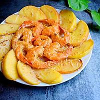#美食新势力#椰浆苹果虾的做法图解17