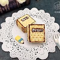 【美食魔法】棉花糖夹心书本饼干,吃万卷书#相约MOF#