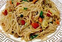 #全电厨王料理挑战赛热力开战!#咖喱炒粉丝的做法