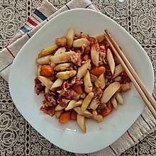 芦笋炒培根