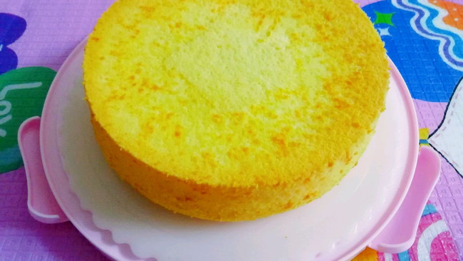#豆果10周年生日快乐#无油低糖戚风蛋糕的做法