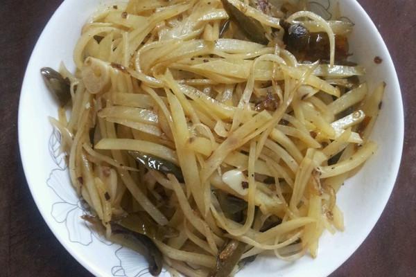 泡椒土豆丝的做法