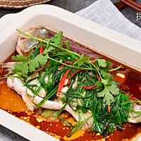 清蒸鲈鱼(烤箱版)