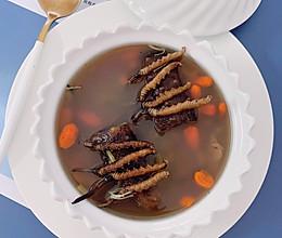 #营养小食光#冬虫夏草海参瑶柱腱子肉汤的做法