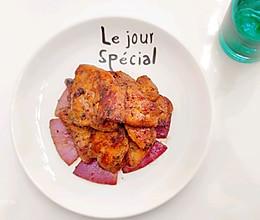 香煎黑椒鸡胸肉的做法