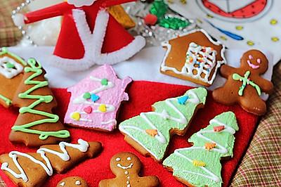 圣诞涂鸦姜饼