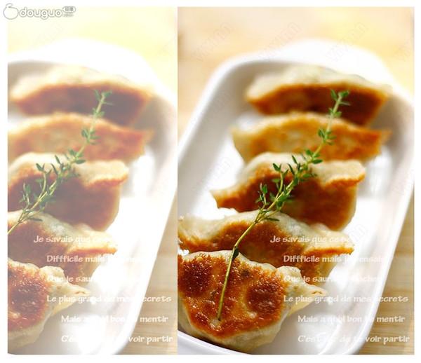 菠菜鸡蛋素煎包的做法
