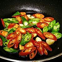 家常菜-辣椒毛豆炒肉沫的做法图解6