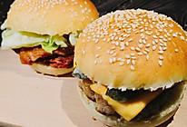 #餐桌上的春日限定#解密·肯德基新奥尔良鸡腿堡·芝士猪排堡的做法