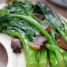 芥蓝炒腊肉