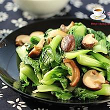香菇炒白菜