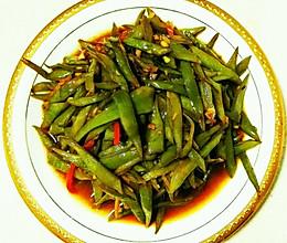 素炒扁豆丝的做法