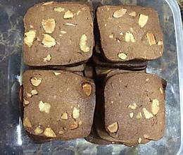 巧克力坚果饼干的做法