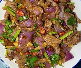 小炒-牛肉的做法