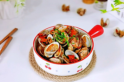 锡纸烤花蛤