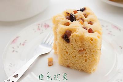 玉米面发糕--懒人的美味