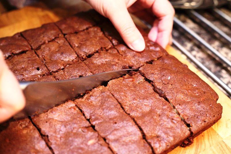 曼步厨房 - 巧克力坚果布朗尼