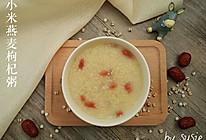 【养生粥】小米燕麦枸杞粥的做法