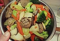 炒牛肉丸的做法