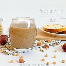 早餐好搭配丨五谷红枣豆浆【香浓丝滑版】