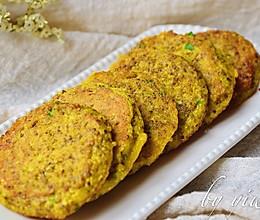 葱香藜麦蛋饼#发现粗粮之美#的做法