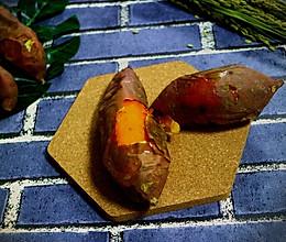 流蜜的烤红薯的做法