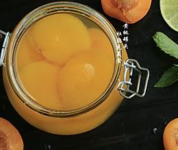 冰糖黄桃罐头的做法