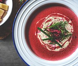 甜菜根奶油汤【安卡西厨】的做法