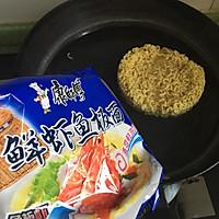 蛋酿苦瓜#小虾创意料理#的做法图解2