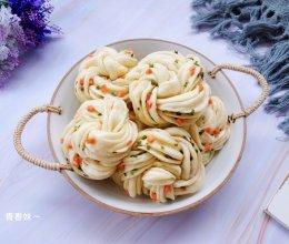 #今天吃什么#香葱火腿花卷的做法
