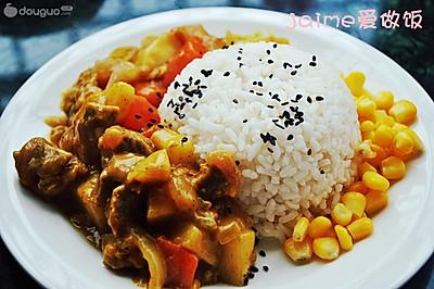 经典味咖喱牛肉饭