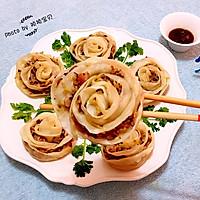 玫瑰蒸饺#我买新鲜味#的做法图解12