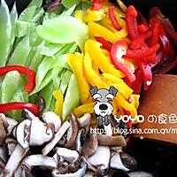 蔬菜炒香菇的做法图解3
