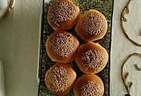 南瓜小面包的做法