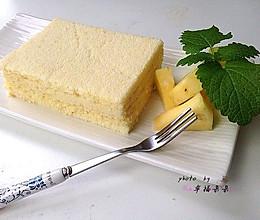 凤梨酸奶蛋糕片的做法