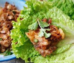 """自制泡菜炒五花肉,太好吃啦!#美食说出""""新年好""""#的做法"""