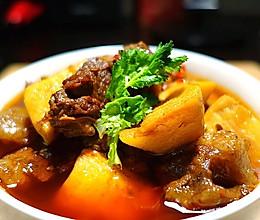 四川年夜饭必备--冬笋烧牛肉的做法