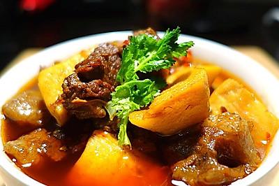 四川年夜饭必备--冬笋烧牛肉