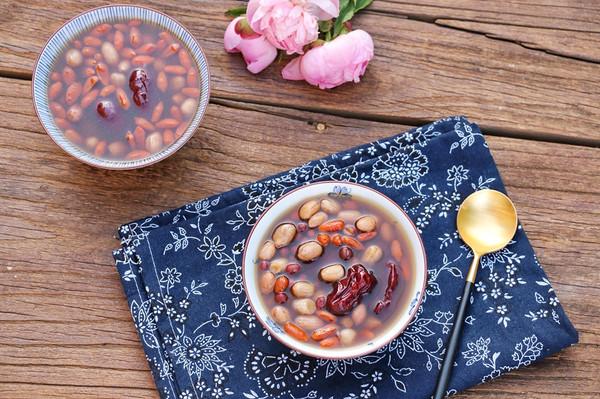 养生五红汤的做法