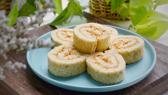 小米红豆薏仁蛋糕卷
