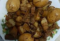 红烧肉+卤蛋的做法