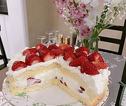 最简单的裸蛋糕/八寸戚风的做法