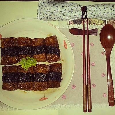 韩式照烧豆腐