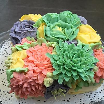 裱花蛋糕之奶酪霜的做法 步骤10