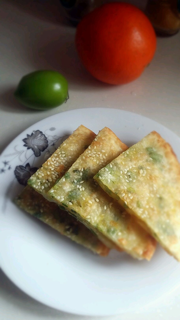 饺子皮椒盐煎饼的做法