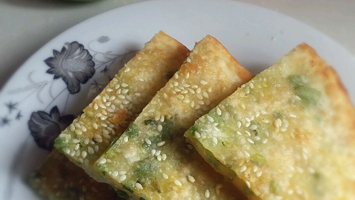 饺子皮椒盐煎饼