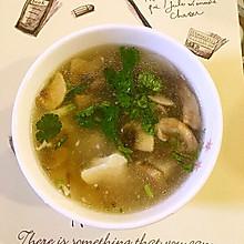 蘑菇肉糜豆腐汤