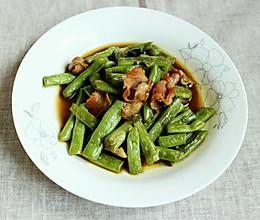 四季豆炒咸肉的做法