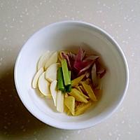 椒洋葱葱莲花白的做法图解3