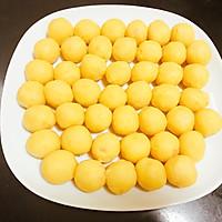 仿香港美心流心奶黄月饼#法国乐禧瑞,百年调味之巅#的做法图解28